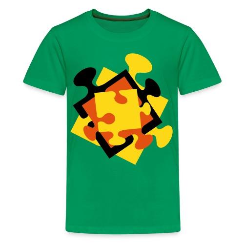 4 Jigsaw Pieces - Kids' Premium T-Shirt