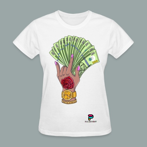 Money Over Niggas Tee - Women's T-Shirt