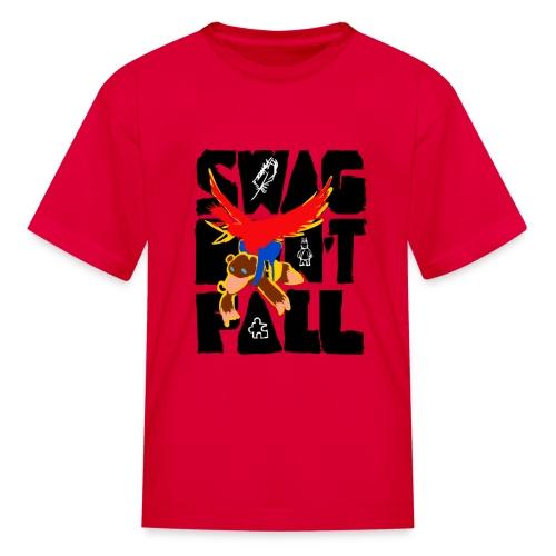 Swag Don't Fall Kids' Tee | Llama & Alpaca - Kids' T-Shirt
