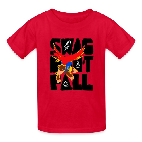 Swag Don't Fall Kids' Tee   Llama & Alpaca - Kids' T-Shirt