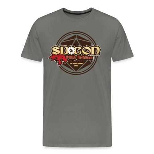 Men's SD-Con 2018 - Men's Premium T-Shirt