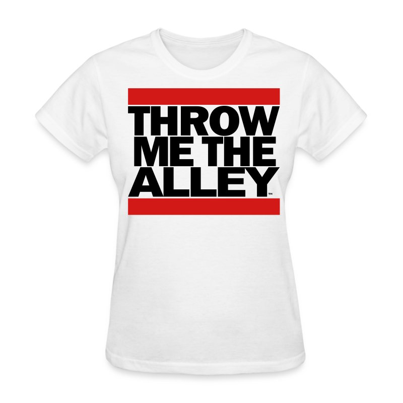 Throw me the alley™ (Run DMC)  - Women's T-Shirt