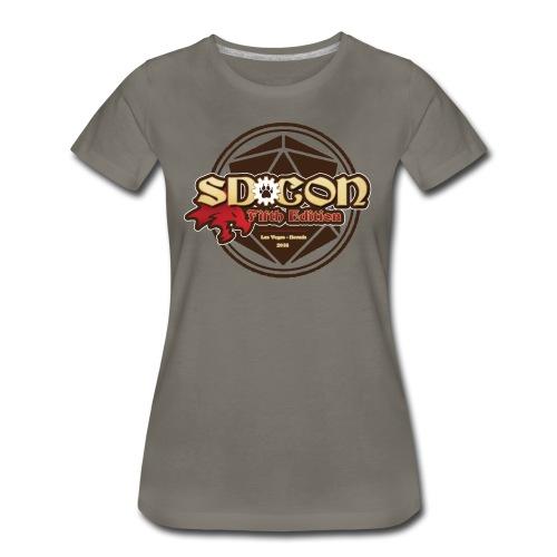 Women's SD-Con 2018 - Women's Premium T-Shirt