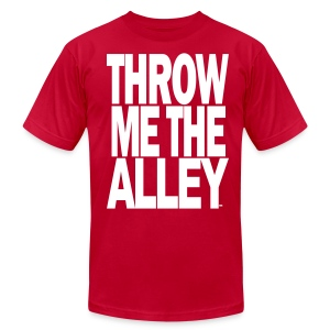 Throw me the alley™ - Men's T-Shirt by American Apparel