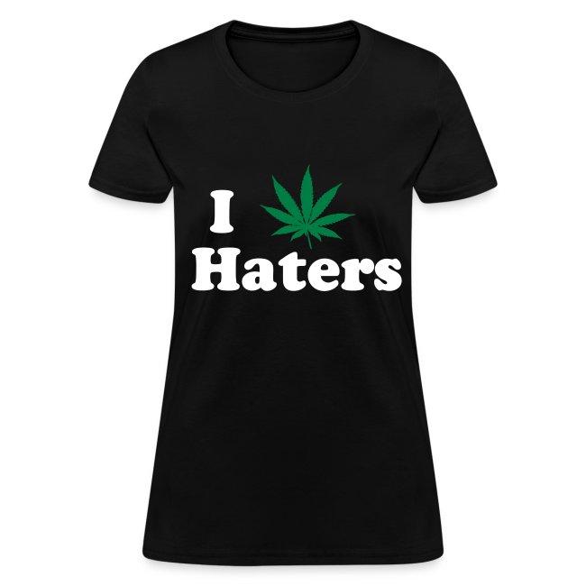 """""""iSmokeHaters"""" T-Shirt Women"""