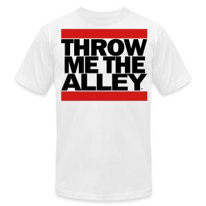 Throw me the alley™ (Run DMC)  - Men's T-Shirt by American Apparel