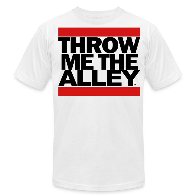 f3d9f21be Scooter Magruders Shop!   Throw me the alley™ (Run DMC) - Mens ...