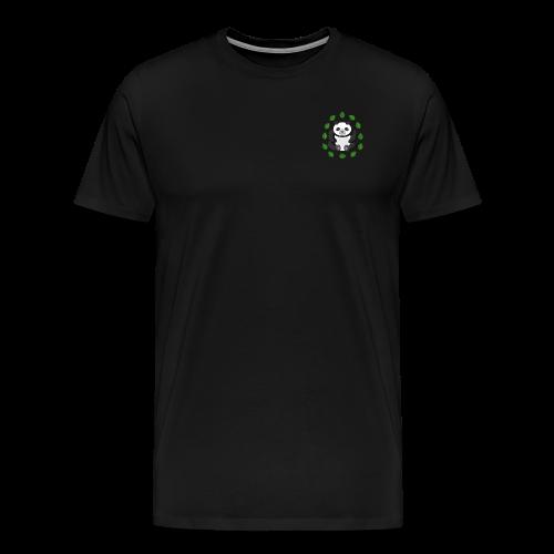 Zen Panda small logo shirt - Men's Premium T-Shirt