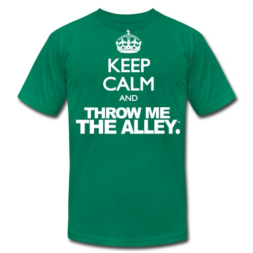 Keep Calm and Throw Me The Alley™ - Men's  Jersey T-Shirt