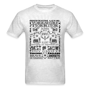 Yorkshire Terrier 'Best in Show' Tshirt - Men's T-Shirt