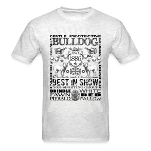 Bulldog 'Best in Show' Tshirt - Men's T-Shirt