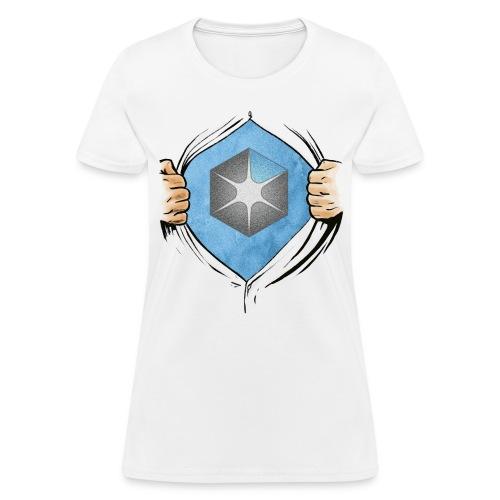 OCAS Hero w/Logo and URL (Light) - Women's T-Shirt