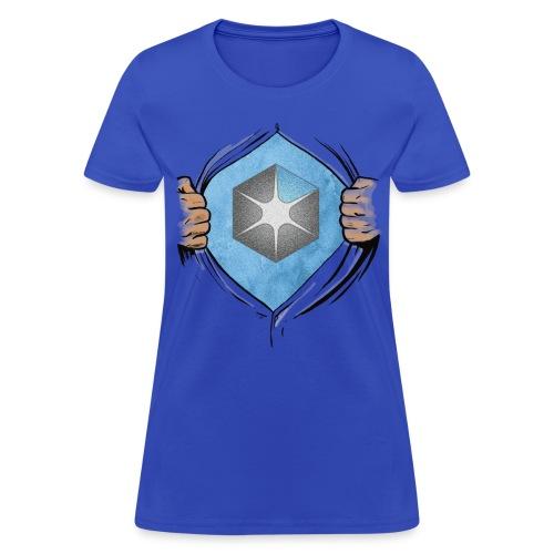 OCAS Hero + Back (Dark) - Women's T-Shirt