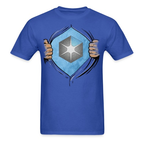 OCAS Hero + Back (Dark) - Men's T-Shirt