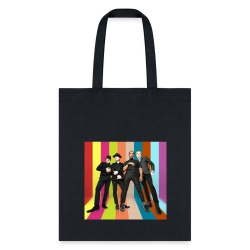powershot_stripe_tote - Tote Bag