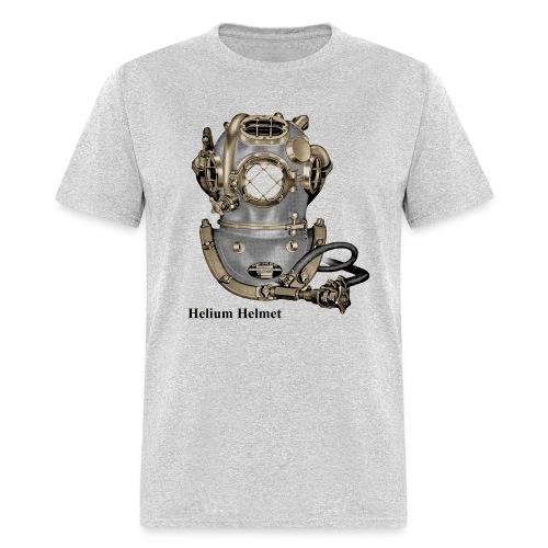 Vintage Navy Mark V Helium Diving Helmet - Men's T-Shirt