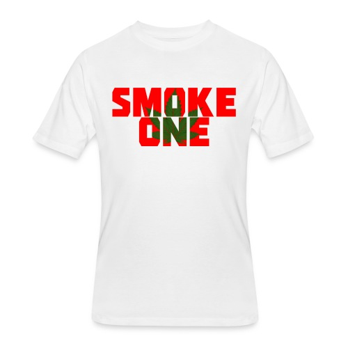 Men's #SmokeOne Tee - Men's 50/50 T-Shirt
