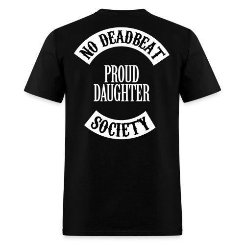 NDBS Proud Daughter (Adult) Back Rocker T-shirt - Men's T-Shirt