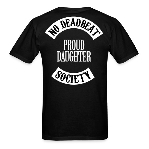 NDBS Proud Daughter (Adult) Back Rocker T-shirt - Men's T-Shirt