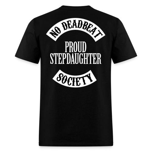 NDBS Proud Stepdaughter (Adult) Back Rocker T-shirt - Men's T-Shirt