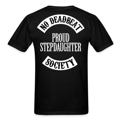 NDBS Proud Stepdaughter (Adult) Back Rocker T-shirt - Men's T-Shirt