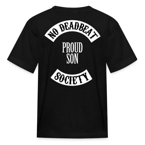 NDBS Proud Son (Kids) Back Rocker T-shirt - Kids' T-Shirt