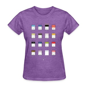 Many Face of Gary (by Ferdinand Alfonso) - Women's T-Shirt