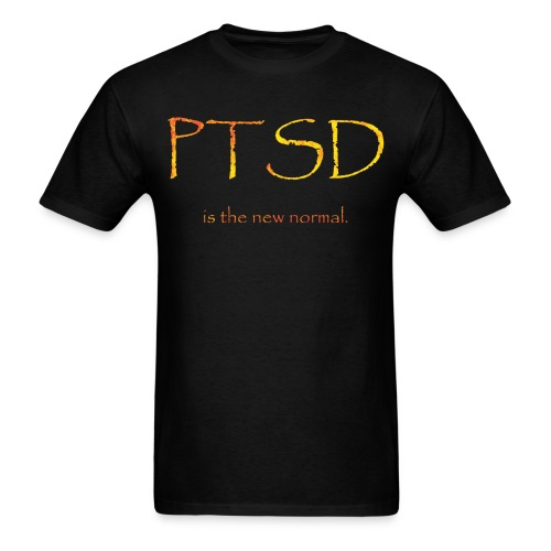 PTSD normal - Men's T-Shirt