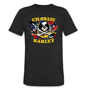 Charlie Barley - Unisex Tri-Blend T-Shirt by American Apparel