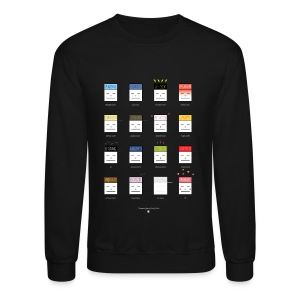 Many Face of Gary (by Ferdinand Alfonso) - Crewneck Sweatshirt