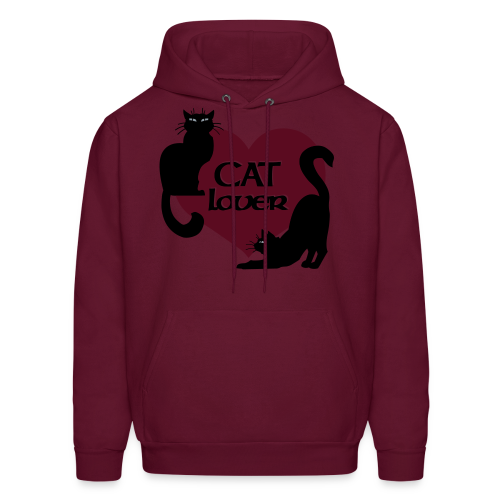 Cat Lover Hoodie Men's Cat Sweatshirt - Men's Hoodie