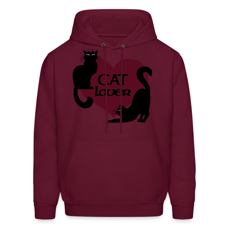 Cat Lover Hoodie Men's Cat Sweatshirt - Men's Hoodie