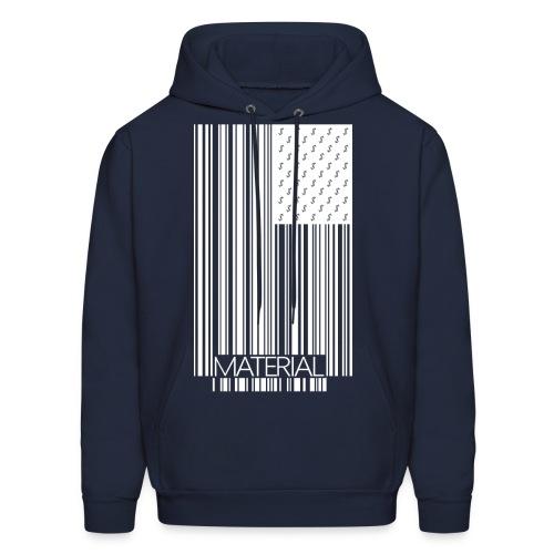 Material White Logo Hoody - Men's Hoodie
