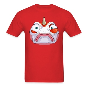Somewhat Concerned Fish (M) - Men's T-Shirt