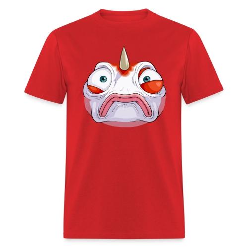 Somewhat Concerned Fish (M) - Men's T-Shirt
