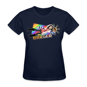 Burger Get (text) (F) - Women's T-Shirt