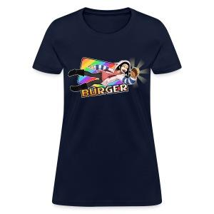 Burger Get (text) (F) - Women's T-Shirt