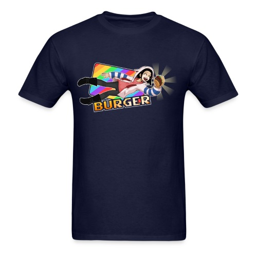 Burger Get (text) (M) - Men's T-Shirt