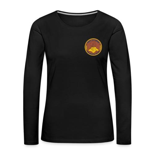 USS ABRAHAM LINCOLN WOMENS CREST LONG SLEEVE - Women's Premium Long Sleeve T-Shirt