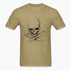 Dot Skull Design T-Shirts