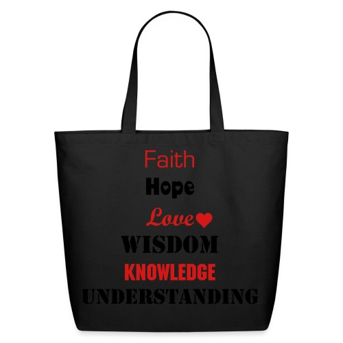Faith and Love - Eco-Friendly Cotton Tote
