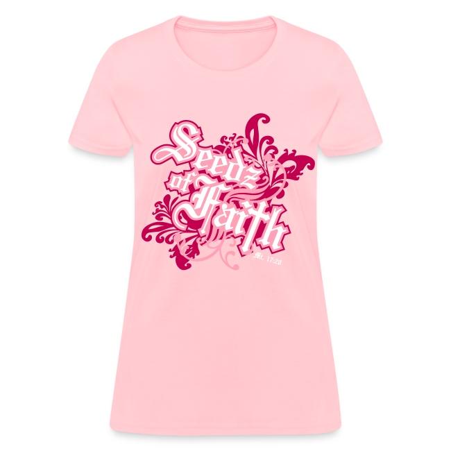 Women's SOF Logo Pink Tee