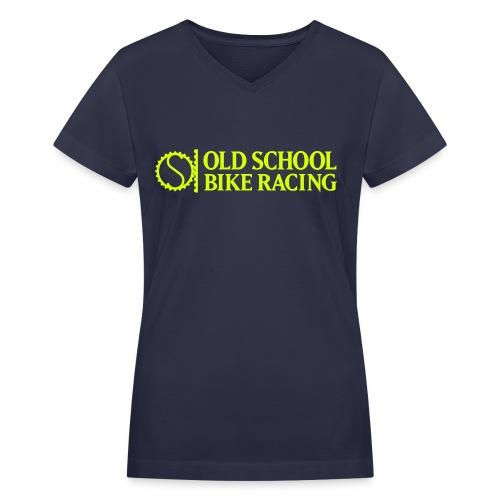 Old School 2017 Women's V-Neck Tee - Women's V-Neck T-Shirt