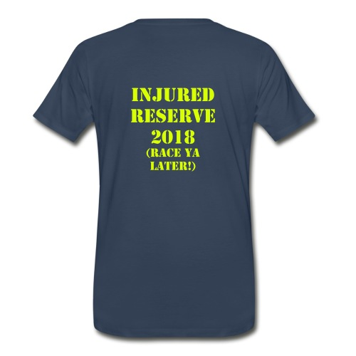Old School Racing 2018 Injured Reserve Mens Basic T with Sleeve - Men's Premium T-Shirt