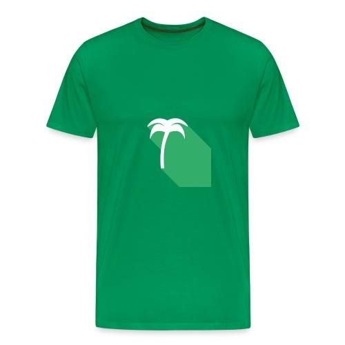 Green Tropical Tree - Fruit of the Loom Men's Tee - Men's Premium T-Shirt