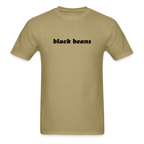 Funny T-Shirt Black Beans T-Shirt - Men's T-Shirt