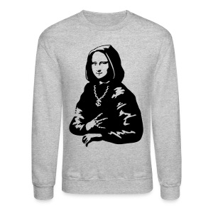 Ghetto Mono Lisa - Crewneck Sweatshirt