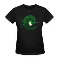 T-Shirts ~ Women's T-Shirt ~ Hollens Grn