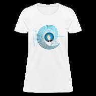 Women's T-Shirts ~ Women's T-Shirt ~ Hollens Blue