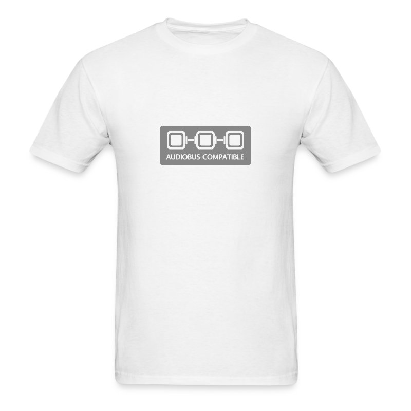 Audiobus Compatible: Blank, men's - Men's T-Shirt